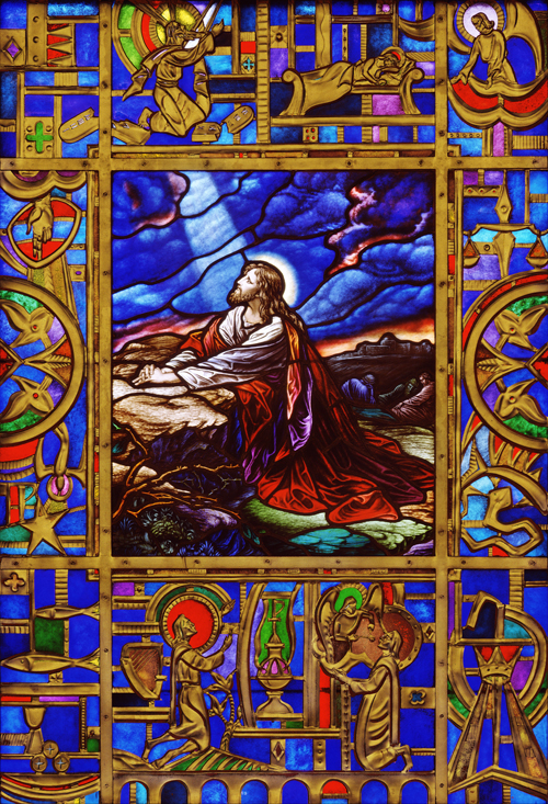 Christ in Gethsemane window