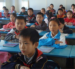 Students in Nanjing, China