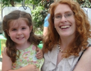 author and daughter