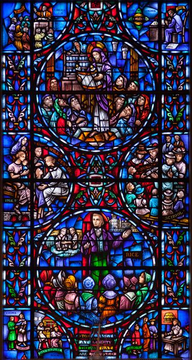 Chapel east window