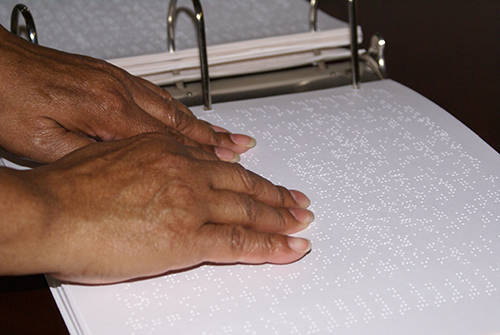 Braille hymnal