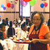 Fifth-graders celebrate with formal luncheon