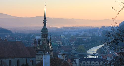 Romania sunrise