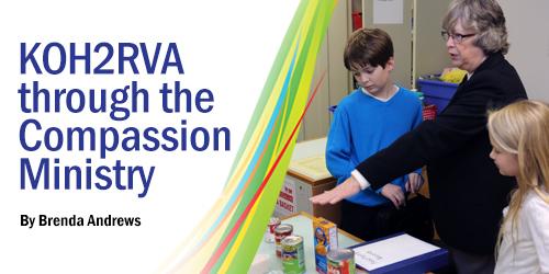 KOH2RVA through the Compassion Ministry