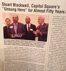 Blackwell honored