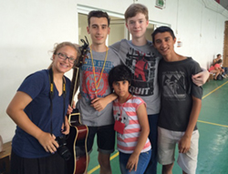Love and Presence with Roma Children