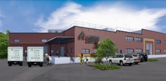 New facility rendering