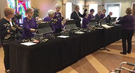FirstRingers at Covenant Woods retirement community