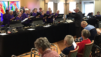 JoySingers at Covenant Woods retirement community