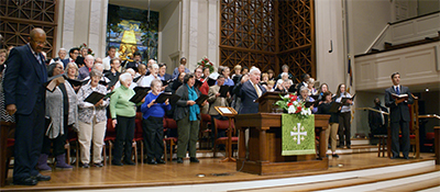 Mt. Tabor and First Baptist Church choir
